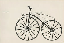 Lovely Vintage Print - Michaux Bicycle, 1861