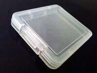 Lot of 10 x pcs CF Compact Flash Memory Card Holder Box Storage Plastic Case