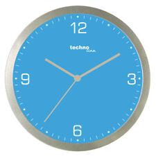 Technoline, WT 9000 Quarzwanduhr, blau, Ø 30cm