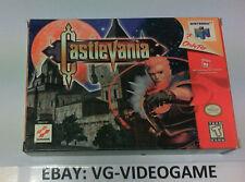 CASTLEVANIA NINTENDO 64 NTSC PARI AL NUOVO!!