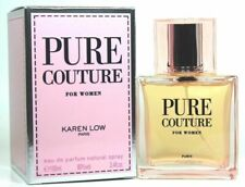 PURE COUTURE By KAREN LOW 3.4 OZ EDP Spray  *PERFUME for WOMEN * NEW in Box