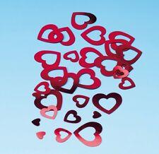 Deko-konfetti Herzen die Cuts rot 15 G