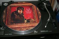 "12""  VINYL RECORD SLIPMAT  TALKING HEADS  NAKED LP   LP"