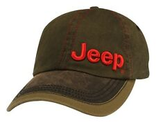 NEW JEEP WRANGLER RUBICON WILLYS GRAND CHEROKEE COMPASS WAX CLOTH VISOR HAT CAP