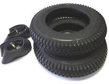 2 Set Reifen + Schlauch 3.00-8 schwarz Elektromobil Scooter Elektro E- Rollstuhl