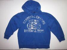 Gap Kids Boys Fleece Hoodie Blue Size M (8)