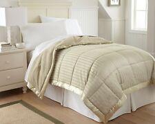 Down Alternative Blanket Reversible Comforter TWIN/QUEEN/KING Size solid Color
