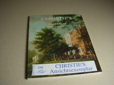 CHRISTIE`S Auktionskatalog BRITISH PICTURES 24. November 1998.