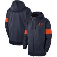 Chicago Bears Hoodies Salute to Service Sideline Performance Sweatshirt Coat