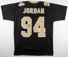 9ada36e8e Cameron Jordan Signed New Orleans Saints Black Jersey (JSA COA) 3×Pro Bowl