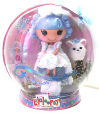 MISB LALALOOPSY Large IVORY ICE CRYSTALS w/ Pet Full Size Collector Edition Doll