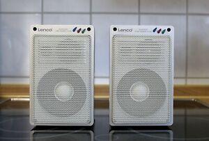 Lenco Hifi 880 3 Wege  Alumininium Lautsprecher Speaker Boxen 100/200Watt 8 Ohm