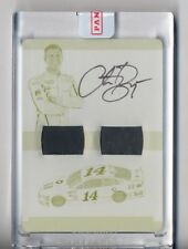 CLINT BOWYER 2017 NATIONAL TREASURES AUTO DUAL RACE USED AUTO PLATE TRUE #1/1