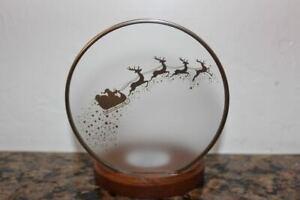 Bath & Body Works Santa & Reindeer Single Wick Candle Holder~Christmas 2020~