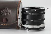 【Near Mint in Case】Nikon F Extension Ring K-1 K-2 K-3 K-4 K-5 from Japan #29A