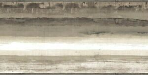 Mesa Striped Border BP8264BD wallpaper architectural gray SureStrip prepasted