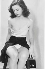 Vintage 1930s Photo School Girl Sexy Pin Up Undressing Naughty Risque #1261