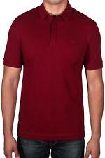 1e99bc2b14fe Lacoste Men s Paris Edition Regular Fit Polo Shirt Stretch PH5522 476  Burgundy