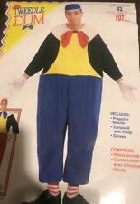 Tweedle Dum Costume Adult Up To Chest Size 42 In