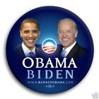 Lot of 10 - OBAMA / BIDEN 2008 Official Campaign Photo Button Pin - Union