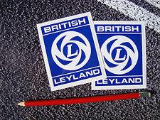 British Leyland logo Sticker 90mm  Rover Mini Princess British Car Legend BMC