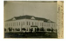 Pierre South Dakota Sd - Old Capitol Building - Rppc Postcard