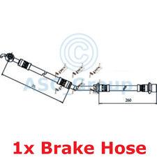APEC BRAKING 537mm Scheibe Bremssattel flexibel GUMMISCHLAUCH hos4076