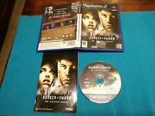 Broken Sword The Sleeping Dragon Ps2 Edizione Uk Gioco Italiano Perfect Completo