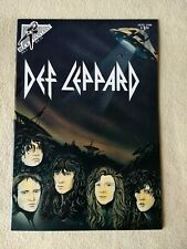 Rock Fantasy 12 F+ Def Leppard 1St Print 1990 Heavy Metal Pop .Huge Sale+