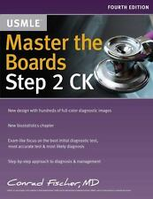 MASTER THE BOARDS USMLE STEP 2 CK - FISCHER, CONRAD - NEW PAPERBACK BOOK