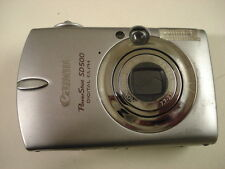 Nice Canon Powershot SD500 Digital Camera IXUS700
