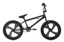 """20"""" BMX Bike Freestyle Fahrrad Rad Rise schwarz-grau KS Cycling 646B"""