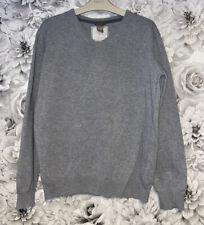 Boys Age 11-12 Years - Zara Grey Fine Knit Jumper