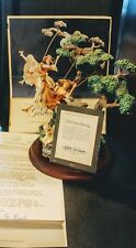 Girl on a swing figurine by Franklin Mint with certificate Antique Vintage Rare