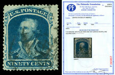 Scott 39 1860 90c Washington Issue Used F-VF Cat $10,000 with PF CERTIFICATE!