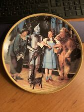 """Hamilton 8 1/2"""" Wizard Of Oz Commemorative Plate, """"There'S No Place Like Home"""""""
