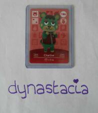 Animal Crossing Amiibo Card - Charlise 186 - Series 2 - Brand New - Mint Cond