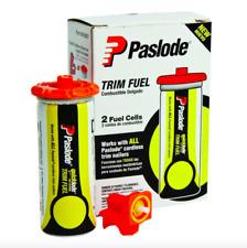 Paslode Framing Nailer Air Compressor Pneumatic Tool Trim Fuel Cells 2 Pack Set