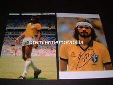 Brasil Copa Mundial de leyenda Sócrates firmado volver a imprimir fotografías