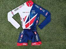 British Cycling Kalas HSBC Team GB TT Track Road Speed Skin Suit ~ Unisex ~ XS