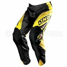 ONE Industries Carbon 'Carrera' MX Pants Yellow size 28