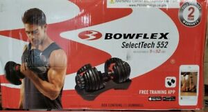 Bowflex SelectTech 552 Adjustable Dumbbell Single Brand New In Box!! Fast Ship!