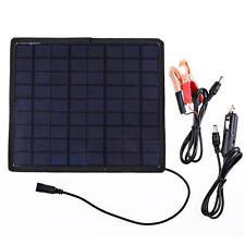 Universial Solar Panel Car Charger for Mobile Phone/12V Battery Charger 5.5W 18V