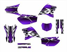 TTR230 Graphics decal kit 2005 - 2015 #2500 Purple with Free Custom Service