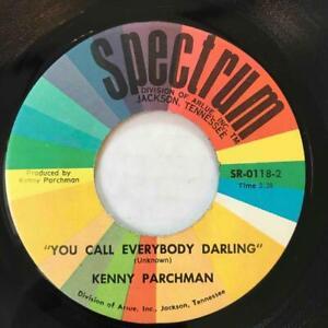 KENNY PARCHMAN You Call Everybody Darling JACKSON TN SPECTRUM ROCKABILLY