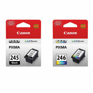 Genuine Canon PG245 CL246 Black/Color Ink Cartridge for MG3020 3122 4522 Printer