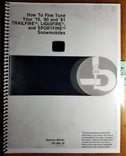 John Deere Fine Tune 79 80 81 Trailfire Liquifire Sportfire Snowmobile Manual