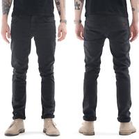 new Nudie Mens Slim Fit Stretch Jeans -Grim Tim Misty Ridge Gray - W28 L32