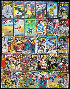 Superman - Funeral for a Friend & Reign of Supermen COMPLETE SET of 34 DC Comics