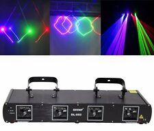 960mW 4 Lens RGBP Laser Light Projector Stage Lighting Party DJ KTV Show DL-55B